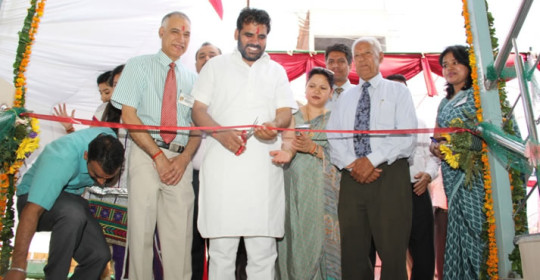 Soft Launch – Trinity Hospital 28 April 2013Shri NK Sharma, Chief Parliamentary Secretary, Punjab