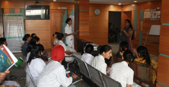 Workshop on Quality Patient Care for staff on 01 Oct 2105