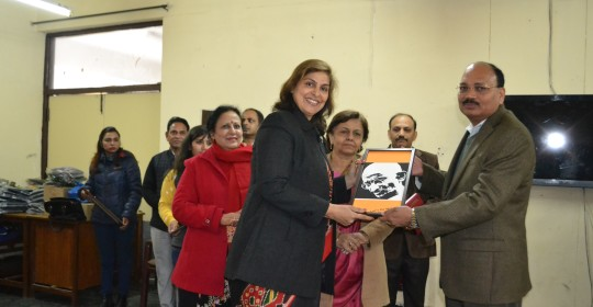 Trinity Education & Foundation distributed woolen sweaters to children of Snehalaya Orphanage, Chandigarh on 16 January 2016. Chief Guest – Mr Justice Surya Kant, Punjan & Haryana High Court