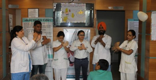 Hand Hygiene Day celebration 05 May 2016