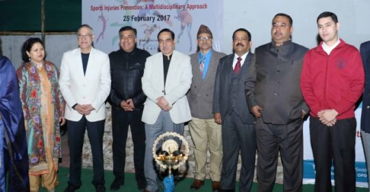 Symposia held on Sports Injury prevention a multidisciplinary approach
