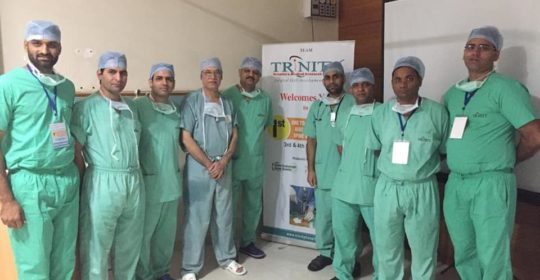 Surgical Skill Development Centre launched at Trinity Hospital, Zirakpur