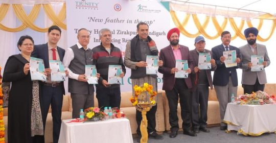 Trinity Hospital, Zirakpur, launched State-of-the-art Spine & Sports Injury Centre